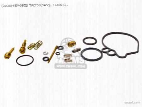 (01600-key-0952) Tact50(sa50), 16100-gs7-053, 16100-gs7-732, Car