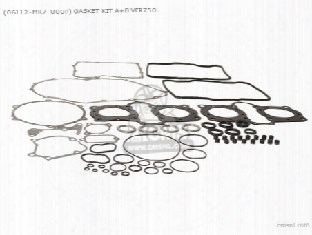 (06112-mr7-000p) Gasket Kit A+b Vfr750r (noburu)