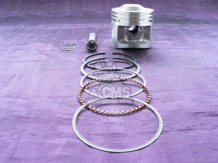 (06131-rrp-811) 85cc Piston Kit (51mm) For 50cc Head (all 6 Volt