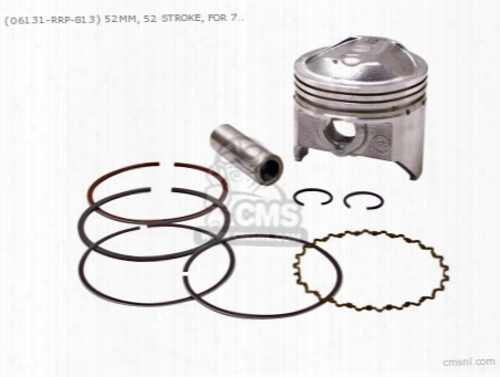 (06131-rrp-813) 52mm, 52 Stroke, For 70cc O.t.