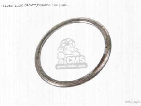 (110601119) Gasket,exhaust Pipe
