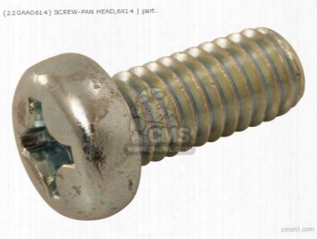(220aa0614) Screw-pan Head,6x14