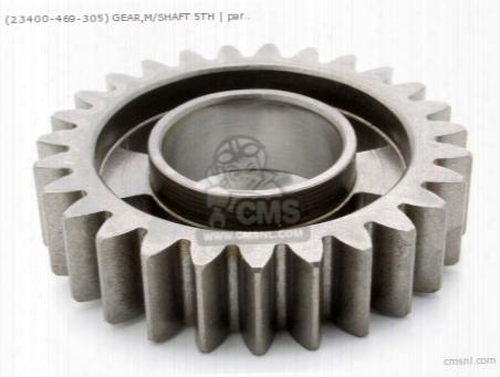 (23400469305) Gear,m/shaft 5th