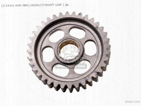 (23420965010) Gear,ct/shaft Low