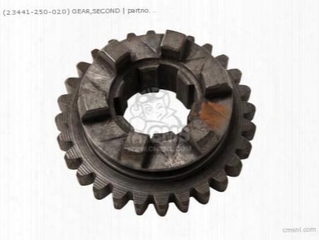 (23441250020) Gear 2nd C 28t