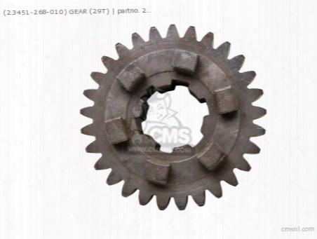 (23451-268-010) Gear 3rd M 29t