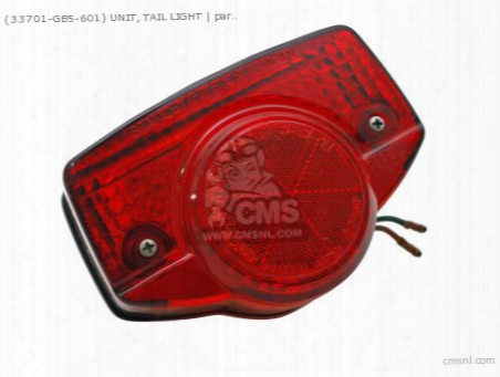 (33700354614) Unit, Tail Light