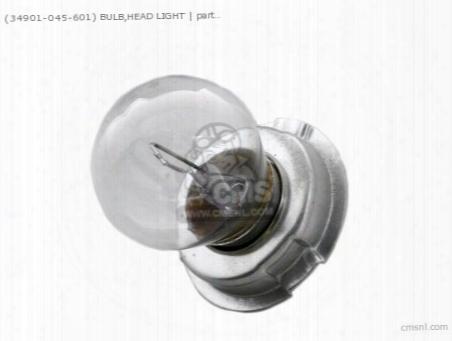 (34901045601) Bulb,head Light