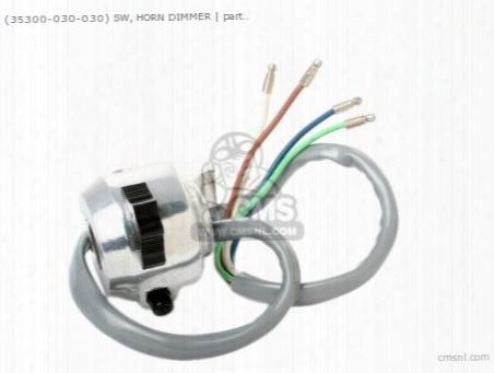 (35300-030-040) Sw, Horn Dimmer