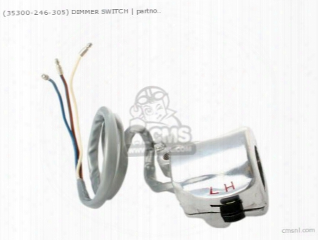 (35300246305) Dimmer Switch