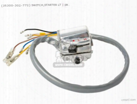 (35300302772) Switch,starter Lt