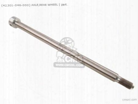 (42301046000) Axle Frt Wheel