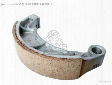 (43120-253-305) Shoe Rear Brake