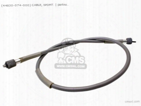 (44830074000) Cable Speedo