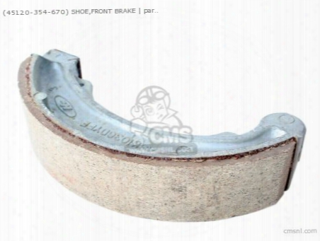(45120354670) Shoe,front Brake