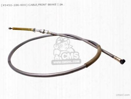 (45450286600) Cable Brak E