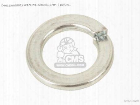 (461da0500) Washer-spring,5mm
