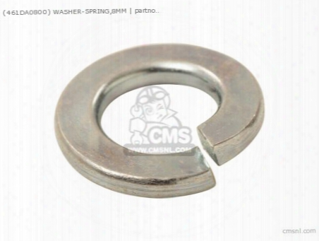 (461da0800) Washer-spring,8mm