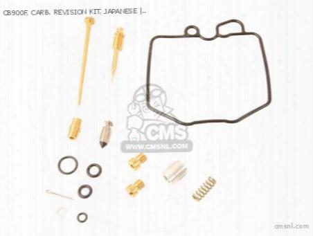 Cb900f, Carb. Revision Kit, Japanese