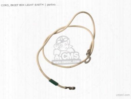 Cord, Brief Box  Light Earth