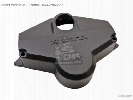 Cover Fuse Plate