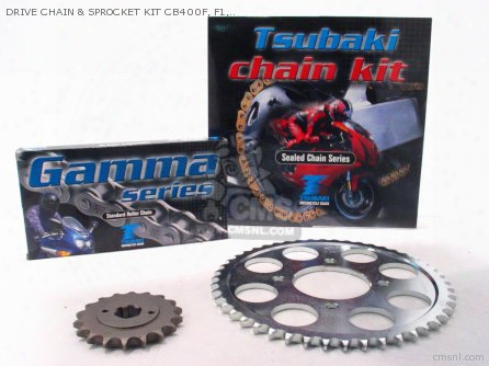 Drive Chain & Sprocket Kit Cb400f, F1, F2