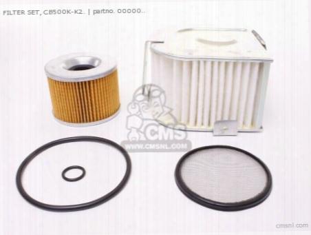Filter Set, Cb500k-k2.