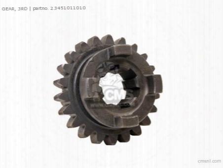 Gear 3rd M 22t