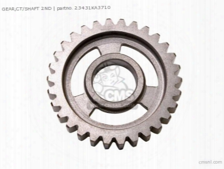 Gear,ct/shaft 2nd