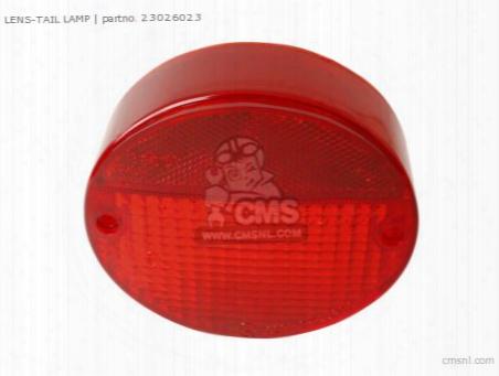 Lens-tail Lamp