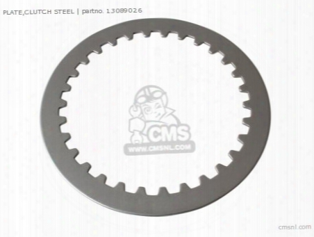 Plate,clutch Steel