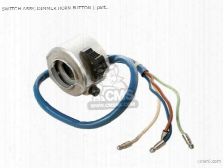 Switch Assy, Dimmer Horn Button