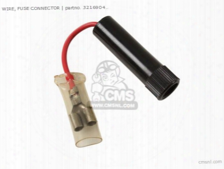 Wire, Fuse Connector