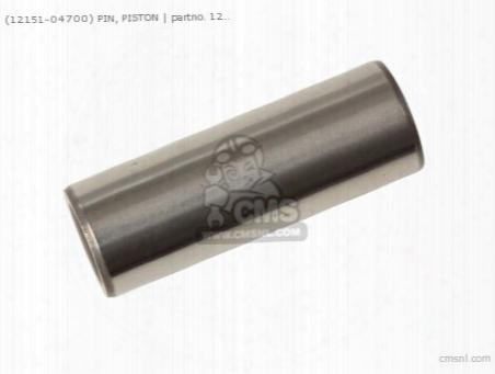 (12151-04700) Pin,piston
