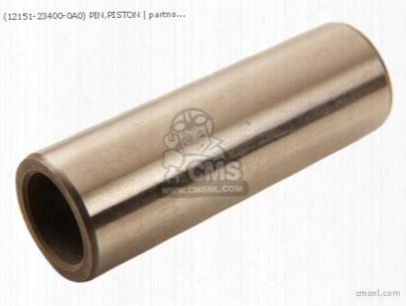 (12151-23400-0a0) Pin,piston