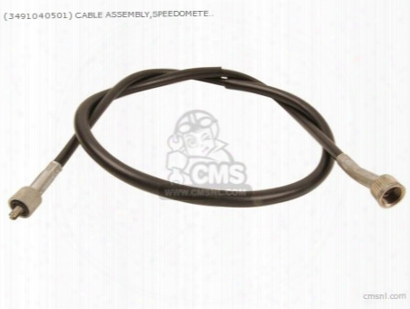 (34910-17b01) Cable Assembly,speedometer