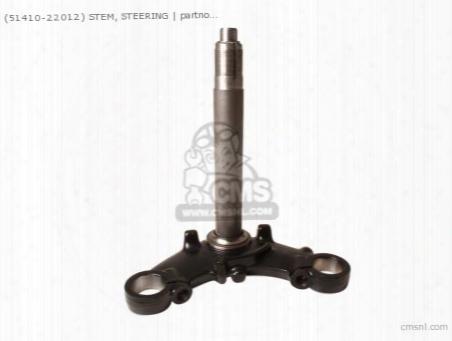 (51410-22012) Stem,steering