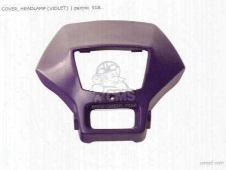 Cover, Headlamp (violet)