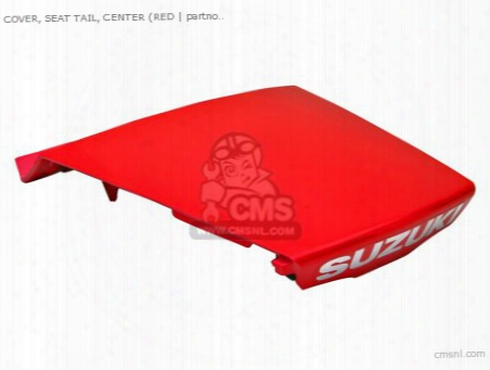 Cover,seat Tail Ctr