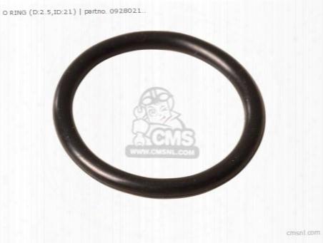 O Ring(d:2.5,id:21)