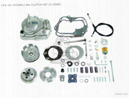 (02-01-5018al) Spl Clutch Kit (5-disk/ Barrel /type2) Monkey-r (