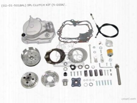 (02-01-5018al) Spl Clutch Kit (5-disk/4-spped Mission ) 6vmonke