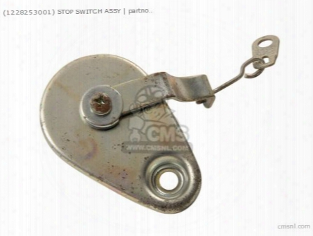 (1228253001) Stop Switch Assy