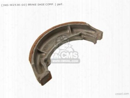 (183w253600) Brake Shoe Comp.