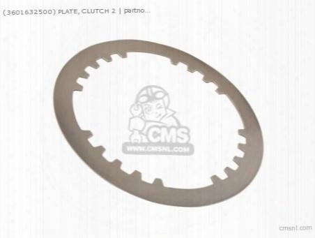 (3601632500) Plate, Clutch 2