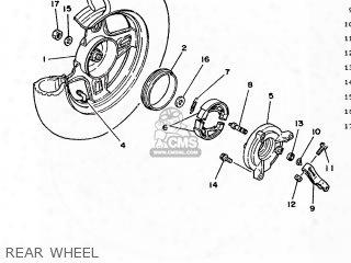 (3ecw253500) Brake Shoe Set