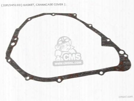 (3jp1545100) Gasket, Crankcase Cover
