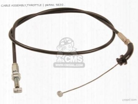 (58300-37101) Cable Assembly,throttle