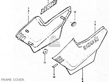 (68134-44400-291) Label,frame Cover Dent