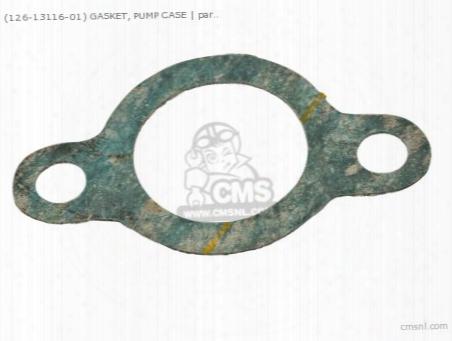 (8y01311600) Gasket, Pump Case